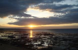 Kupang Beach at Sunset