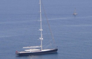 S/Y Red Dragon, an amazing yacht which has graced the shores of Phuket