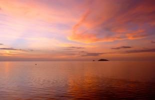 Phil ocean sunset