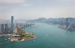 Aerial View Hong Kong 01